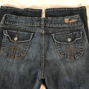 Kut From The Kloth Flap Pocket Bootcut Jeans sz 12